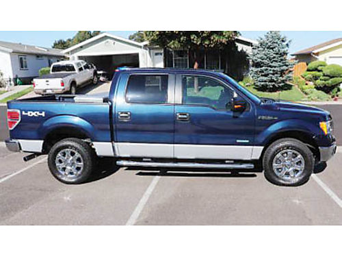2013 FORD F-150 4X4 XLT 35 EcoBoost 6 cyl AT Runs great New brakes and shock