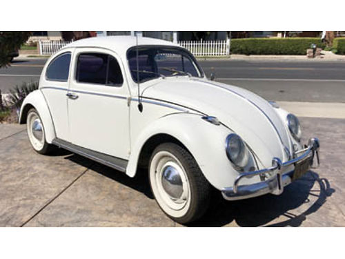 1963 VW BEETLE Runs perfectly New brakes  tires in excellent condition 10500 obo 805-591-007