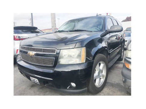 2007 CHEVY TAHOE LTZ - extra luxury like new rear ac runs and looks excellent 119748 13995
