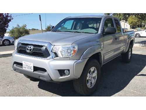 2015 TOYOTA TACOMA 4X4 V6 Access Cab Automatic TRD Off Road Pkg tow pkg Weat