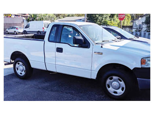 2008 FORD F-150 XL V6 Automatic AC 111250 miles Great truck 7500 leave m