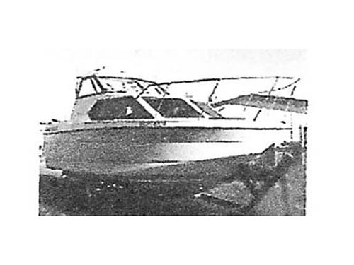 1993 BAYLINER Classic 2452 with GPS 190 HP Mercury Cruiser engine Radar Depth finder electric do