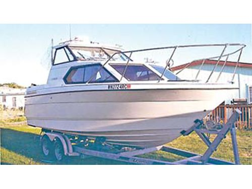 1993 BAYLINER Classic 2452 GPS 305 HP Mercruiser radar depth finder electric downrigger satell