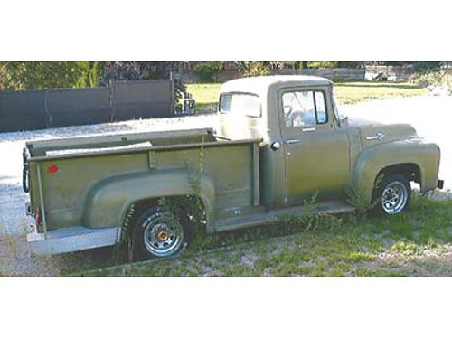 1956 F-250 CLEAR TITLE Original 292 V-8 4 speed transmission 7500 also sold separately 351 Win