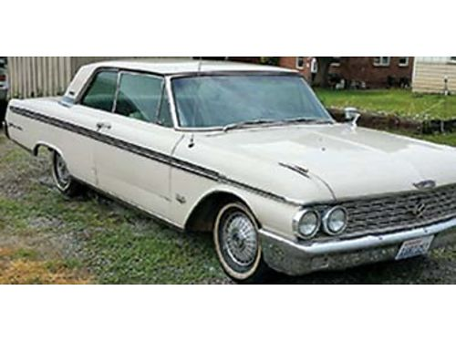 1962 FORD GALAXIE 500 2dr with 390 high power motor with air electric windows and seats under 50K