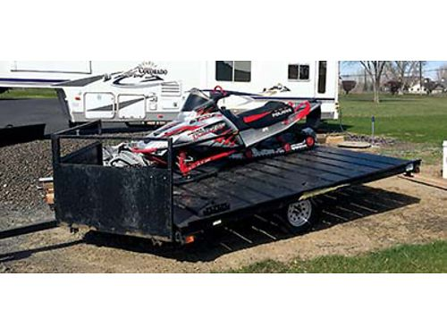 2004 POLARIS 700 Snowmobile 850 miles electric start reverse new cover 161 Track never wrecked