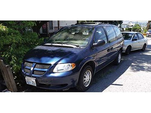 2002 DODGE Grand Caravan SE one owner 180000 miles V6-needs rebuilt or replaced new tires univ