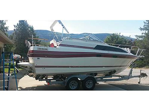 1986 BAYLINER NEW motor all new brakes on TRL cannon down riggers ELC and much more 11000 Ca