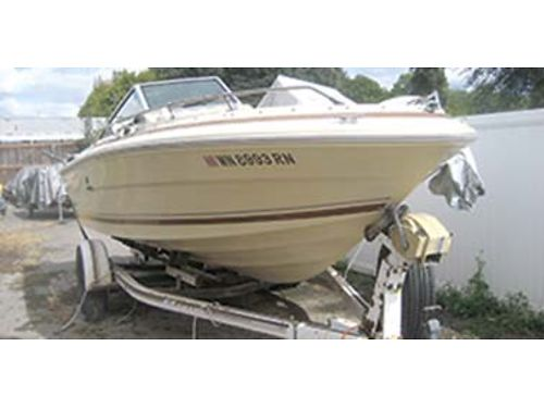 1982 SEARAY Monaco 97 XL 19 12 ft open bow less then 200 hrs runs and looks great trailer ha