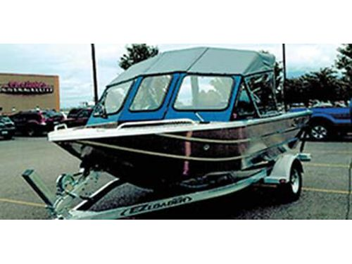 2013 ALUMINUM 16 2 Thunderjet enclosed canvas bench seat swim step 90 hp 4 stroke Yamaha 30 h