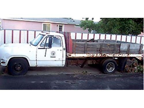 1973 DODGE 1-ton 12ft dump bed needs fuel pump 1800 cash 509-547-7522 Tri-Cities
