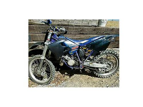 2001 YZ 125 MOTORCYCLE dirt bike 1500 Call Jerry 509-668-3764