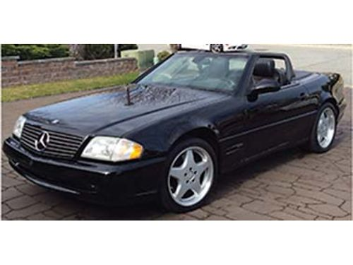 2000 SL500 Mercedes AMG package 88000 original miles includes hard top with rolling stand excel