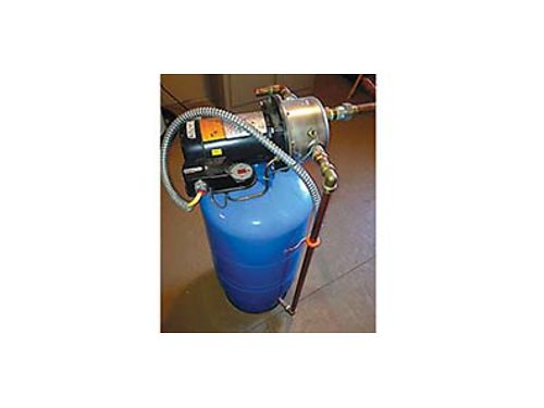WHOLE HOUSE BOOSTER PUMP-350 Amtrol Pressuriser with 15 gallon tank and  hp stainless pump 125 i