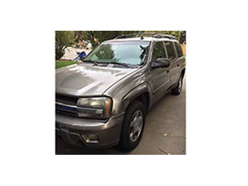 2005 CHEVY EXT LS Trailblazer 4x4 I6 motor 190K miles AT Dual climate controls PW PS PDL Su
