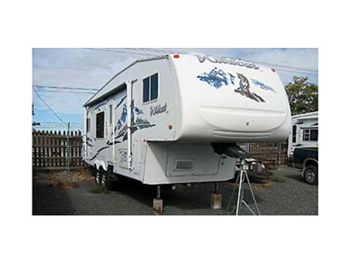 2006 WILDCAT 5TH WHEEL 28 with 12 slideout Excellent condition Generator and many extras 2002 D