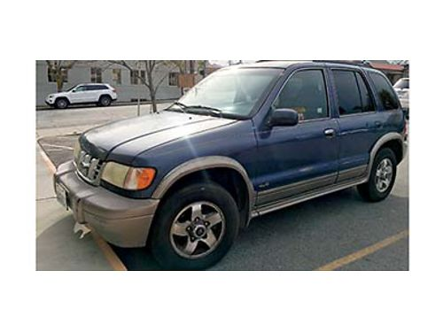 2001 KIA SPORTAGE new tires new muffler automatic 4x4 runs good 2200 OBO Call 509-264-5577