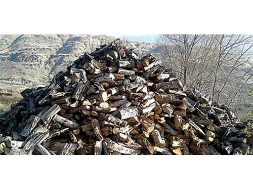 BEAUTIFUL FIREWOOD Apple and Cherry wood cut for fireplace 120 a pickup load with local delivery