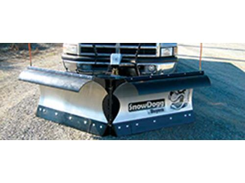 NEW stainless steel snow blade 75 foot 85 foot power angle blades 4500 installed Warranty W