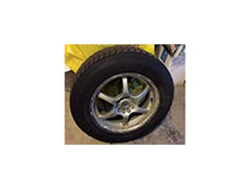 SNOW tires on rims to fit a Honda CRV good condition 450 OBO 509-315-4325