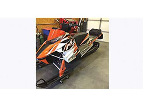 2013 ARCTIC Cat 800 pro climb snowmobile162 26 in track clutch update and gear down are both done