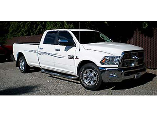 2013 RAM 2500 Laramie HD crew cab 355K miles 67 turbo Cummings 6 speed auto Laramie package