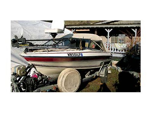 1988 17FT NELNELL Fishing boat All the bells and whistles Heated and covered 130 HP 4 Cylinder i