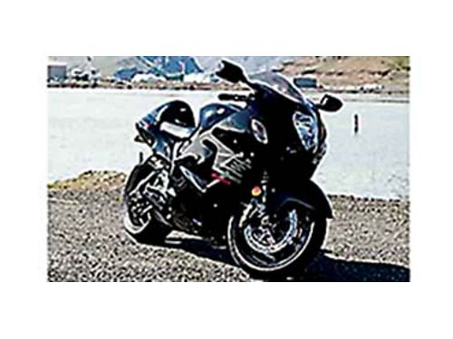 2007 SUZUKI Hayabusa 1300 2nd owner Adult owned babied under 7K miles cover stand stock seat