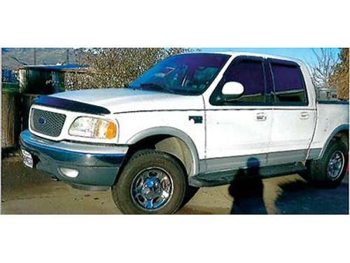 2001 FORD F150 2001 FORD F150 4x4 Larado Crew Cab Tow Package Tool box great shape 4700 509-88