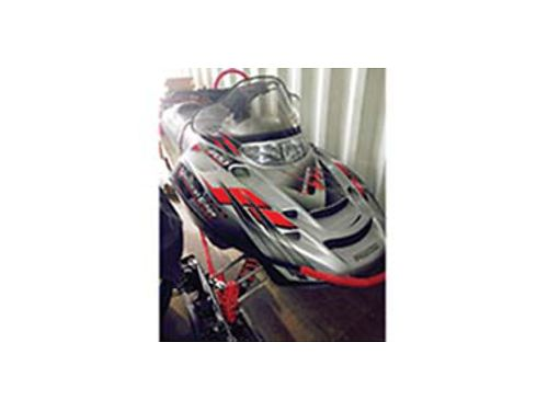 2004 POLARIS Snowmobile RMK Vertical Edge 700 wreverse 144 long track 800 miles Excellent cond