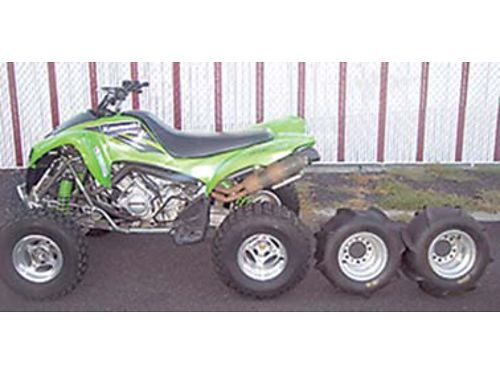 2004 KAWASAKI All-terrain KSV700A1 with paddle tires  wheels 3200 Cash 509-547-7522 Tri-Citie