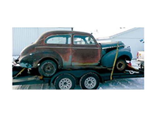 1940 CHEVY 2 door project rebuilt 350 suspension work done nice replacement interior wiring harn