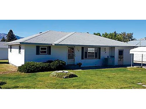 3BED1BATH home with large 2 car garage plus enclosed single car garage Close to schools churches