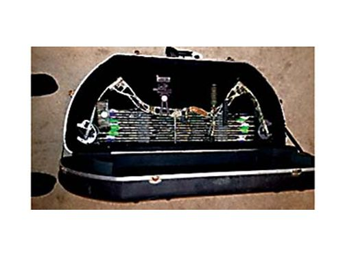 2010 ELITE COMPOUND BOW Judge one owner SKB Travel locking case for bow quiver  12 arrows 11
