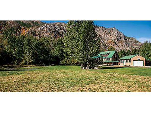 LOW-BANK ENTIAT RIVERFRONT 529000 4 bed 275 bath on over 95 acres private beach detached gar