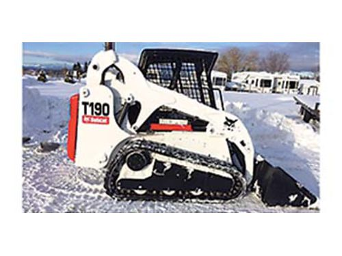 2005 BOBCAT T190 Has 2200 hrs runs and works great comes w brand-new bucket for 23000 will ta