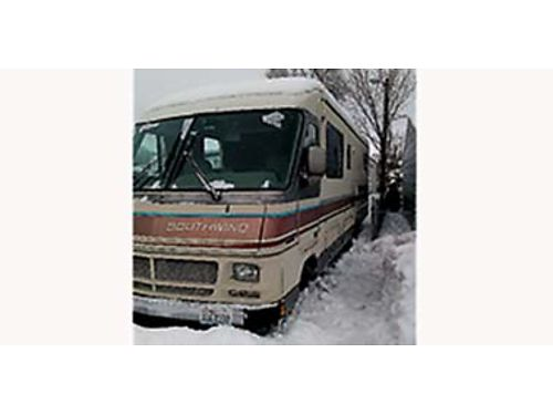 1990 SOUTHWIND Class A Motorhome 30 runs good inside remodeled 3500 OBO call for appointment