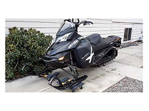 2013 SKI-DOO REV XM 154 Track 931 miles book value is 8000 has clutch upgrade ice scratchers