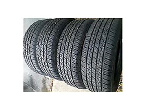 LIKE new set of 4 All Season Toyo Eclipse tires P21560R16 under 500 mile wear 400 509-710-1671