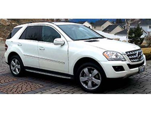 2010 MERCEDES ML350 4matic 98000 miles 1 owner all service records excellent condition 1600