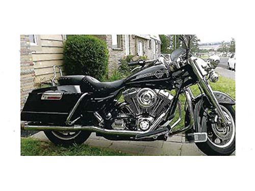 2006 HARLEY DAVIDSON Road King FLHR 88ci carb new tires and seat Parked two years Asking 7995