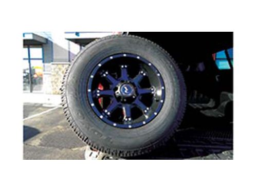 4 P26570R-17 Toyo tires on 4 Race line wheels with sensors came off of a Chevy 12 ton pick-up B