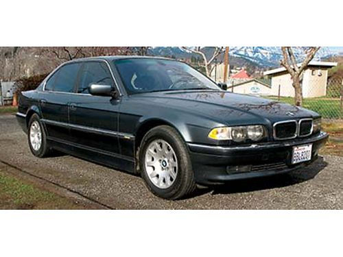 2001 BMW 740I 94000 miles new Michelin tires excellent condition cost over 70000 new asking