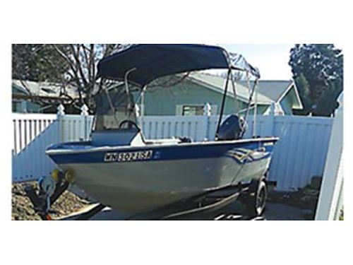 2011 SMOKERCRAFT Lodge 40hp Yamaha 52hrs Easy-load trailer Fluted ancher Bimini top Zip up sid