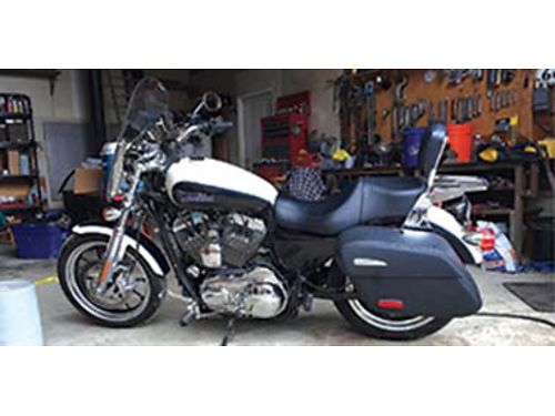 2014 HARLEY Davidson XL1200 Sportster superlow touring 4200 miles one owner 7500 509-435-3664