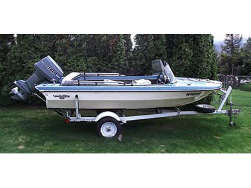 1968 GLASTRON 15 50HP motor trailer all in very good shape Set up for fishing or Skiing 4000
