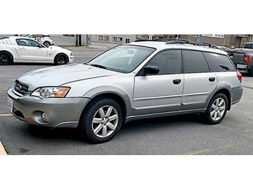 2006 SUBARU LEGACY OUTBACK AWD Silver 116 k miles all power heated seats nice wheels tinted wi