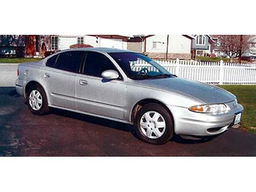 2001 OLDSMOBILE Alero New Les Schwab tires back breaks and battery Everything in good condition