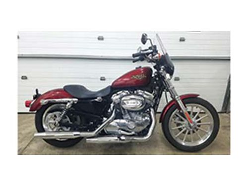 2009 HARLEY Davidson 883XL Sportster with mid controls like new condition only 1037 miles 5795