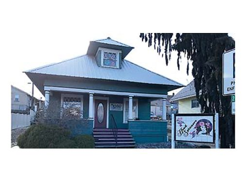 PRICE REDUCED Building has been beauty salon for past 40 years Good location on S Mission with of